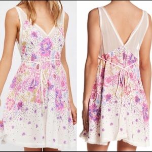 NWOT Intimately Free People Pink Floral Dress M